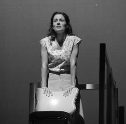 Madeleine Péloquin Dans la pièce Albertine en cinq temps au TNM Yves Renaud