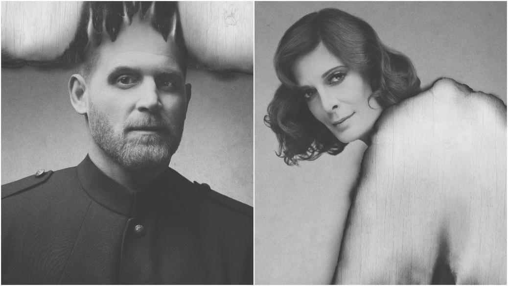 Alexandre Goyette et Anne-Marie Cadieux dans Coriolan