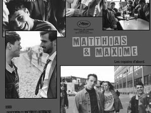 Pier-Luc Funk et Antoine Pilon à Cannes avec Matthias et Maxime de Xavier Dolan