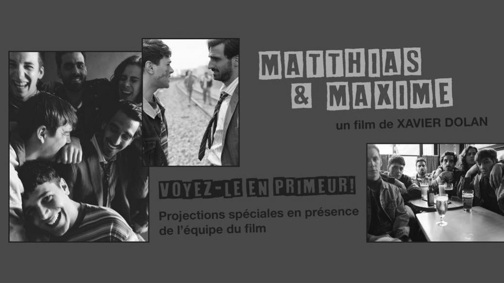 Le film Matthias et Maxime sortira au cinéma le 9 octobre 2019!