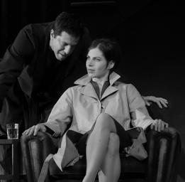Noémie Godin-Vigneau  Dans Le retour avec Patrice Robitaille. ©Yves Renaud