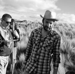 Ken Scott  Avec Jean-Pierre Bergeron sur le plateau de Les doigts croches