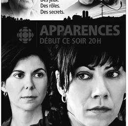 Geneviève Brouillette   Affiche de la série Apparences