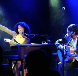 Isabelle Cyr  Sur scène