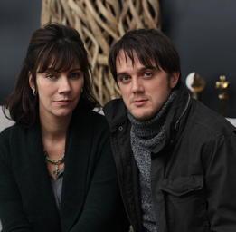 Geneviève Brouillette   Vincent-Guillaume Otis et Geneviève Brouillette dans Apparences